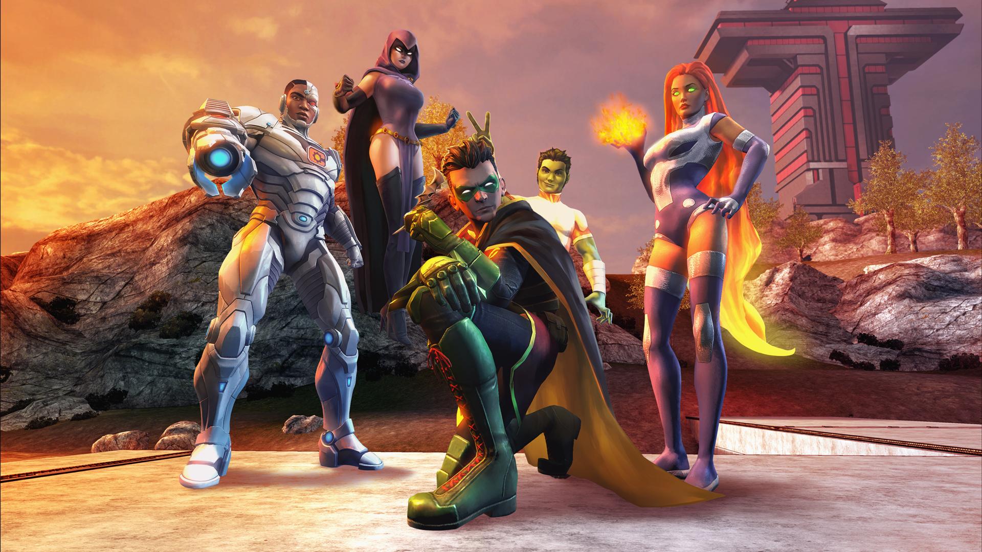 Dc Comics Online Games