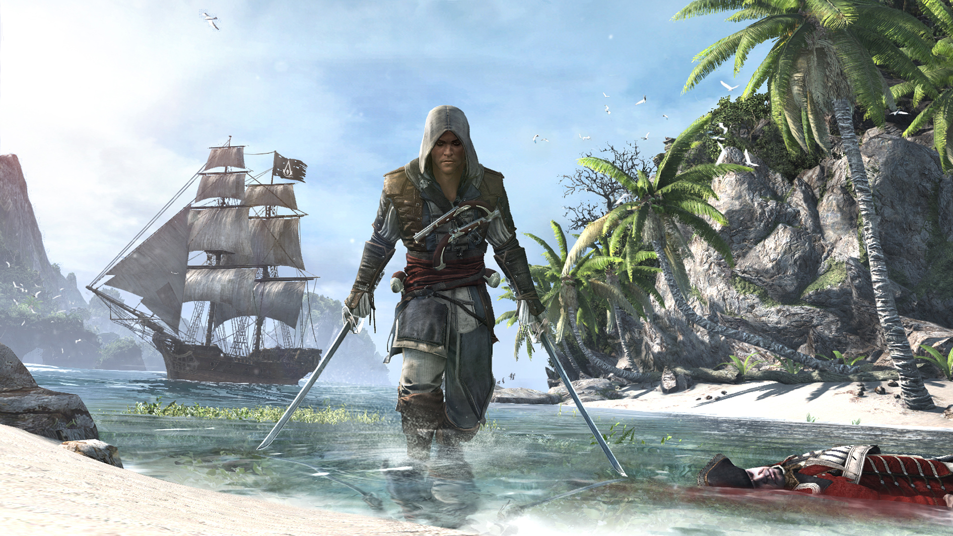 Download The Assassin s Creed IV Black Flag Wallpapers GeForce Assassins creed 4 black flag pictures