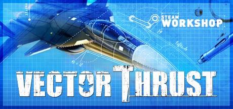 Game Banner Vector Thrust