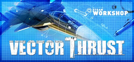 Game Banner Vector Thrust