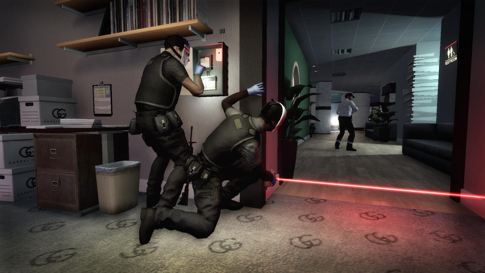 تحميل لعبة سرقة البنوك الجزء الاول - PayDay: The Heist