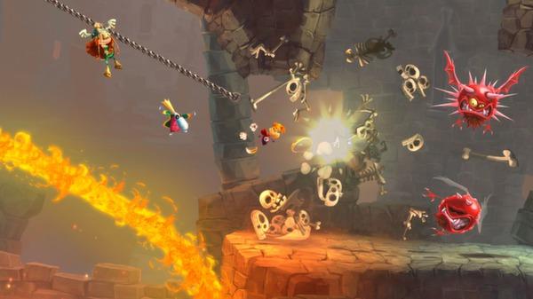 скриншот Rayman Legends 0