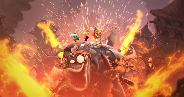 скриншот Rayman Legends 6