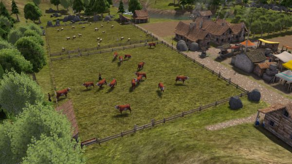 скриншот Banished 4