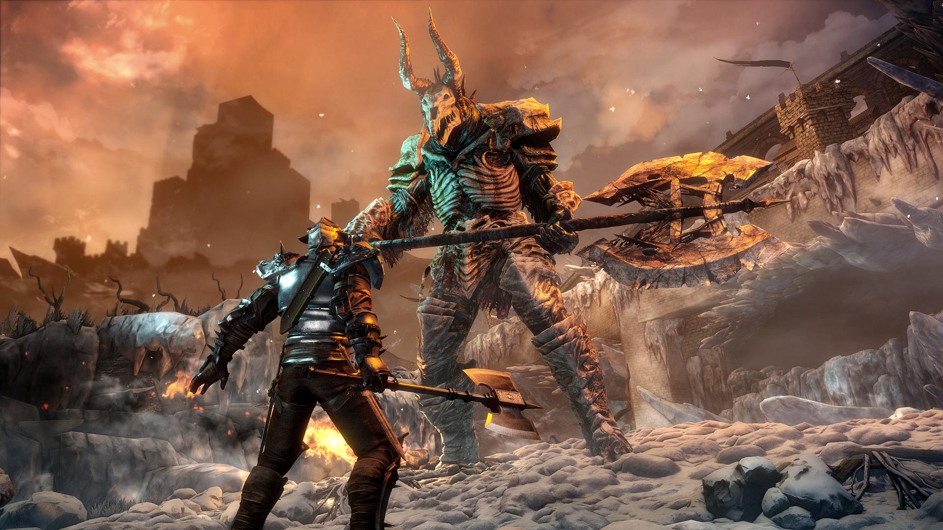 Bound By Flame Xbox 360 Espanol Region Free Xgd2 Spare