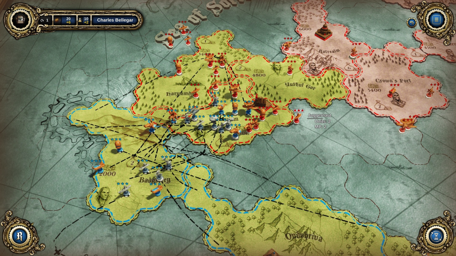 Divinity: Dragon Commander screenshot 3