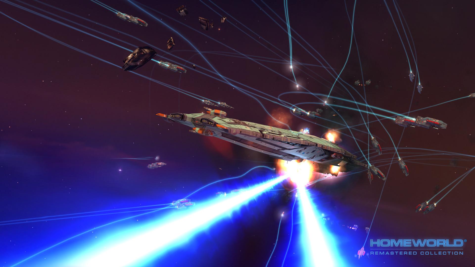 Homeworld Remastered Collection screenshot 1
