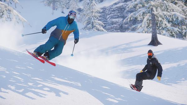 เกมสกี SNOW ที่เล่นได้ฟรีบน Steam