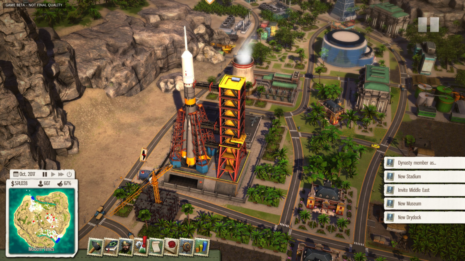 Tropico 5 pre-order, first-run copies to be limited special.