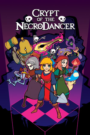 Crypt of the NecroDancer poster image on Steam Backlog
