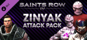 Saints Row IV - Zinyak Attack Pack cover art