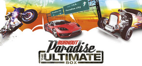 Burnout Paradise: The Ultimate Box cover art