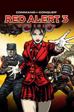 Command & Conquer: Red Alert 3 - Uprising poster image on Steam Backlog