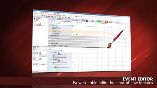 Скриншот из Clickteam Fusion 2.5