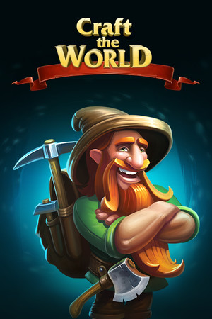 Craft The World poster image on Steam Backlog