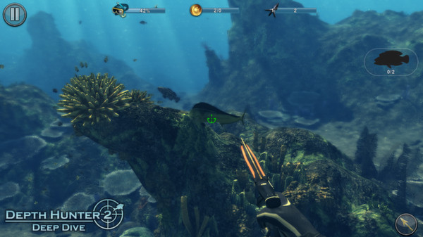 Screenshot of Depth Hunter 2: Deep Dive