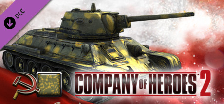 CoH 2 - Soviet Skin: (M) Two Tone Spring Front
