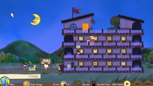 Screenshot of Unholy Heights
