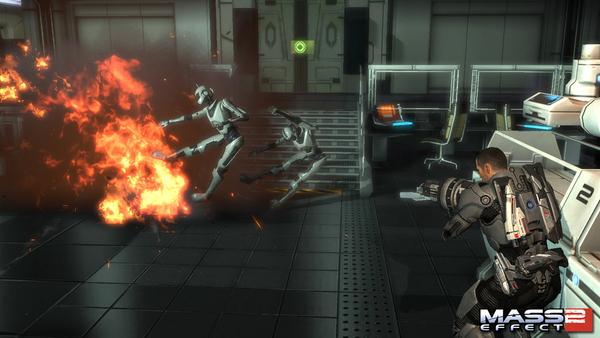 скриншот Mass Effect 2 1
