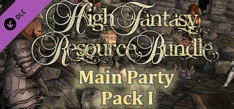 RPG Maker VX Ace - High Fantasy Main Party Pack I