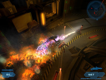 Скриншот из Shadowgrounds