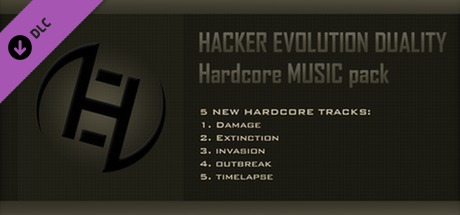 Hacker Evolution Untold Hardcore Music Pack