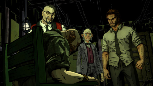 скриншот The Wolf Among Us 4