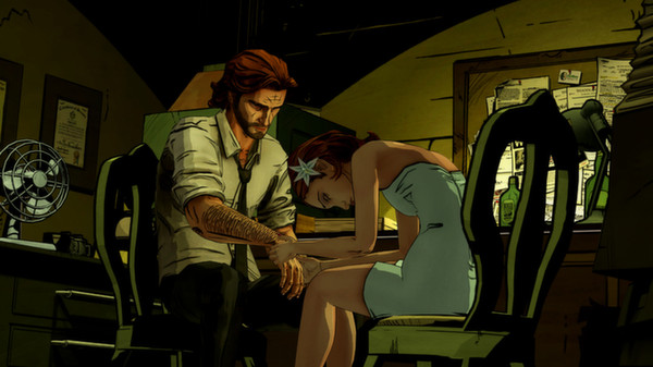 скриншот The Wolf Among Us 1
