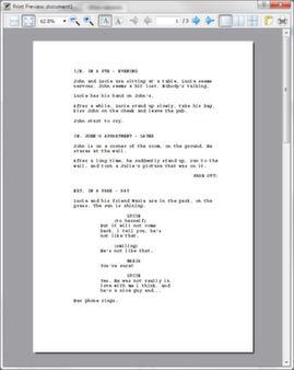 Скриншот из MovieWriterPro