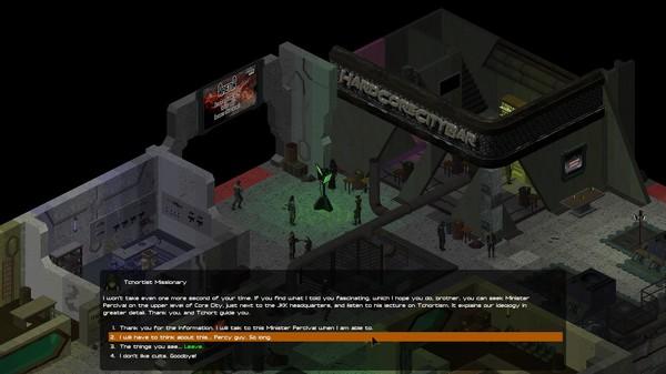 скриншот UnderRail 1
