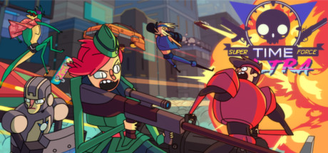 Super Time Force Ultra cover art