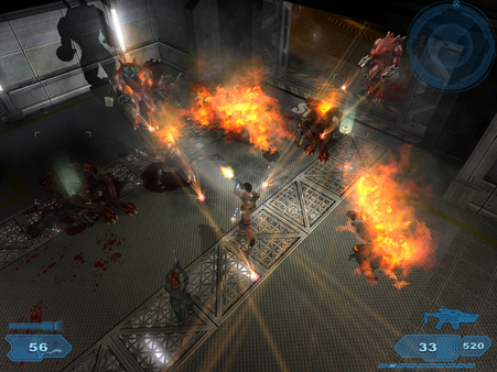 Скриншот из Shadowgrounds Demo