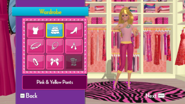 скриншот Barbie Dreamhouse Party 0