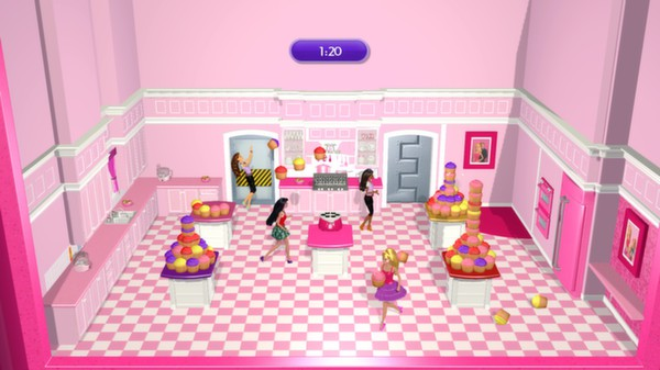 скриншот Barbie Dreamhouse Party 4