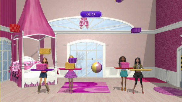 скриншот Barbie Dreamhouse Party 1