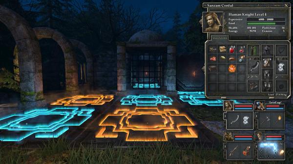 Screenshot of Legend of Grimrock 2