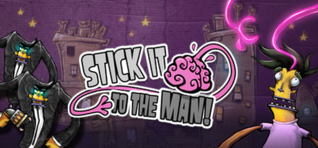 Stick It To The Man! cover art