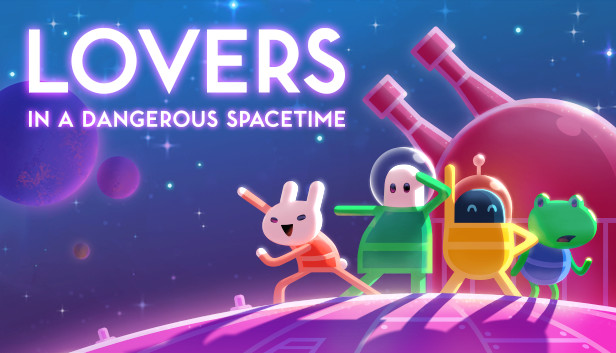 """Image result for lovers in a dangerous spacetime"""""""