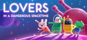 Lovers in a Dangerous Spacetime cover art