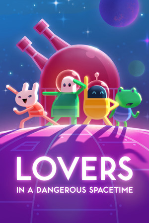 Lovers in a Dangerous Spacetime poster image on Steam Backlog