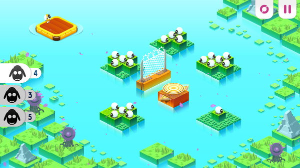скриншот Divide by Sheep 2