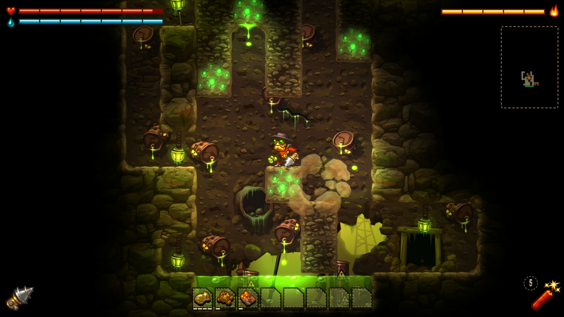 SteamWorld Dig screenshot 2