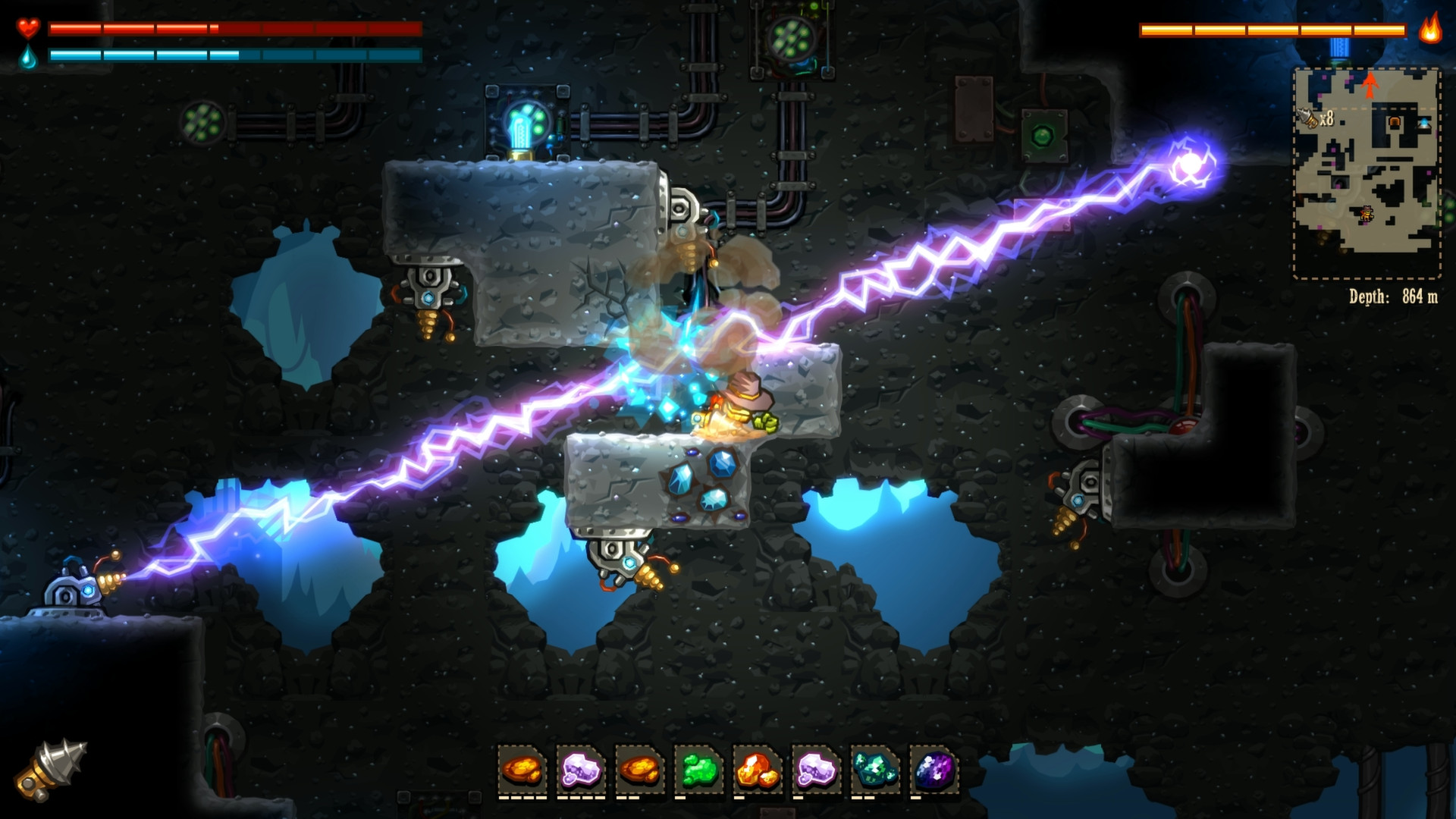 SteamWorld Dig screenshot 3