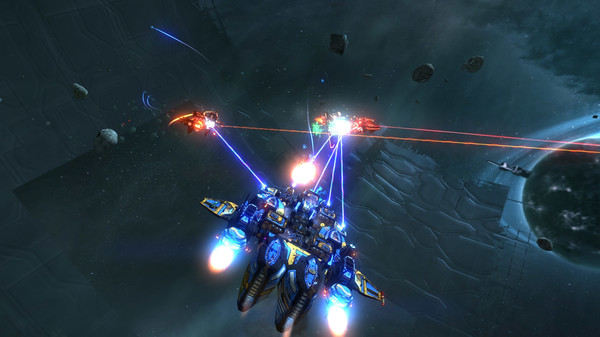 Screenshot of Space Pirates and Zombies 2