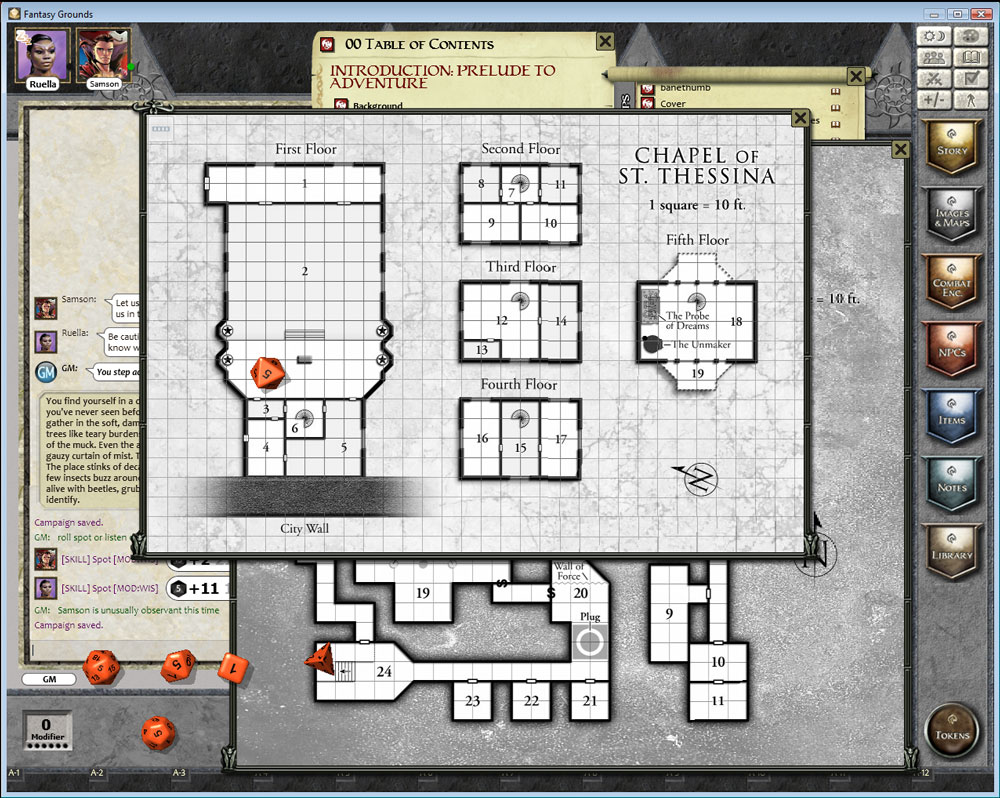 fantasy grounds ruleset