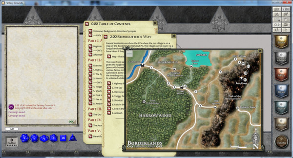Fantasy Grounds Screenshot