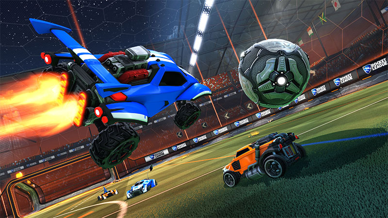 is rocket league free on pc