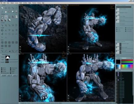 скриншот Aartform Curvy 3D 3.0 2