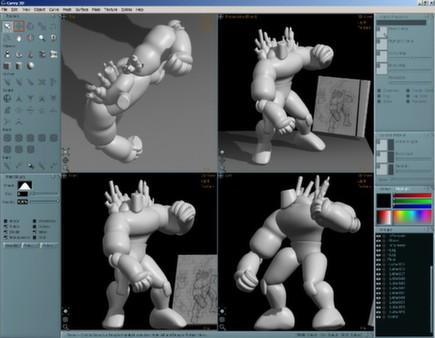 Скриншот из Aartform Curvy 3D 3.0