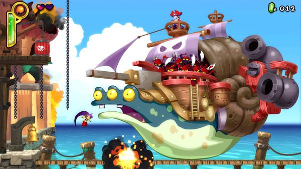 Скриншот №1 к Shantae Half-Genie Hero